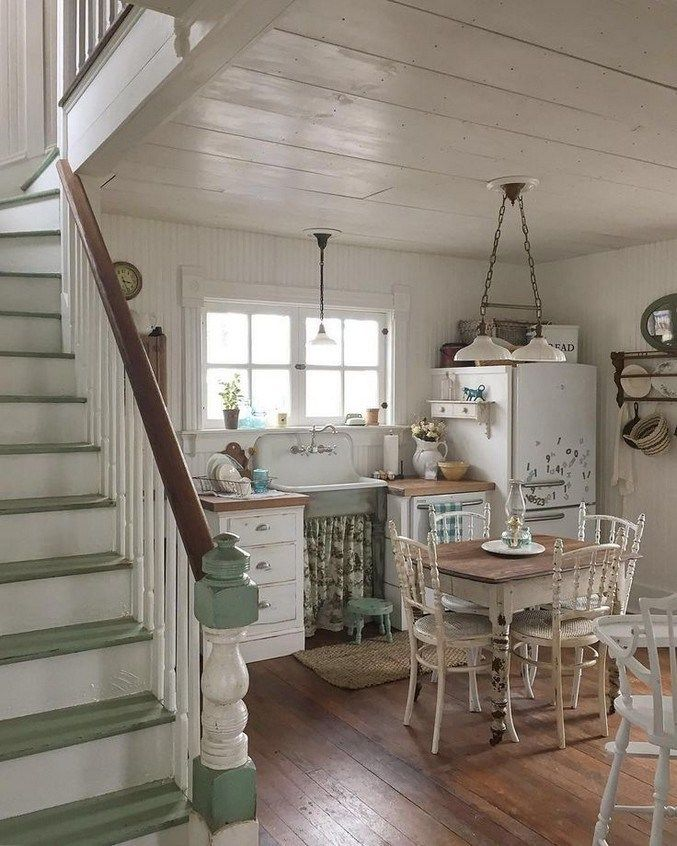 25 Lovely Shabby Chic Kitchen Ideas (Striking Rooms For Cooking) - 0778010E85B329Ee5E76D19313B7C0E0