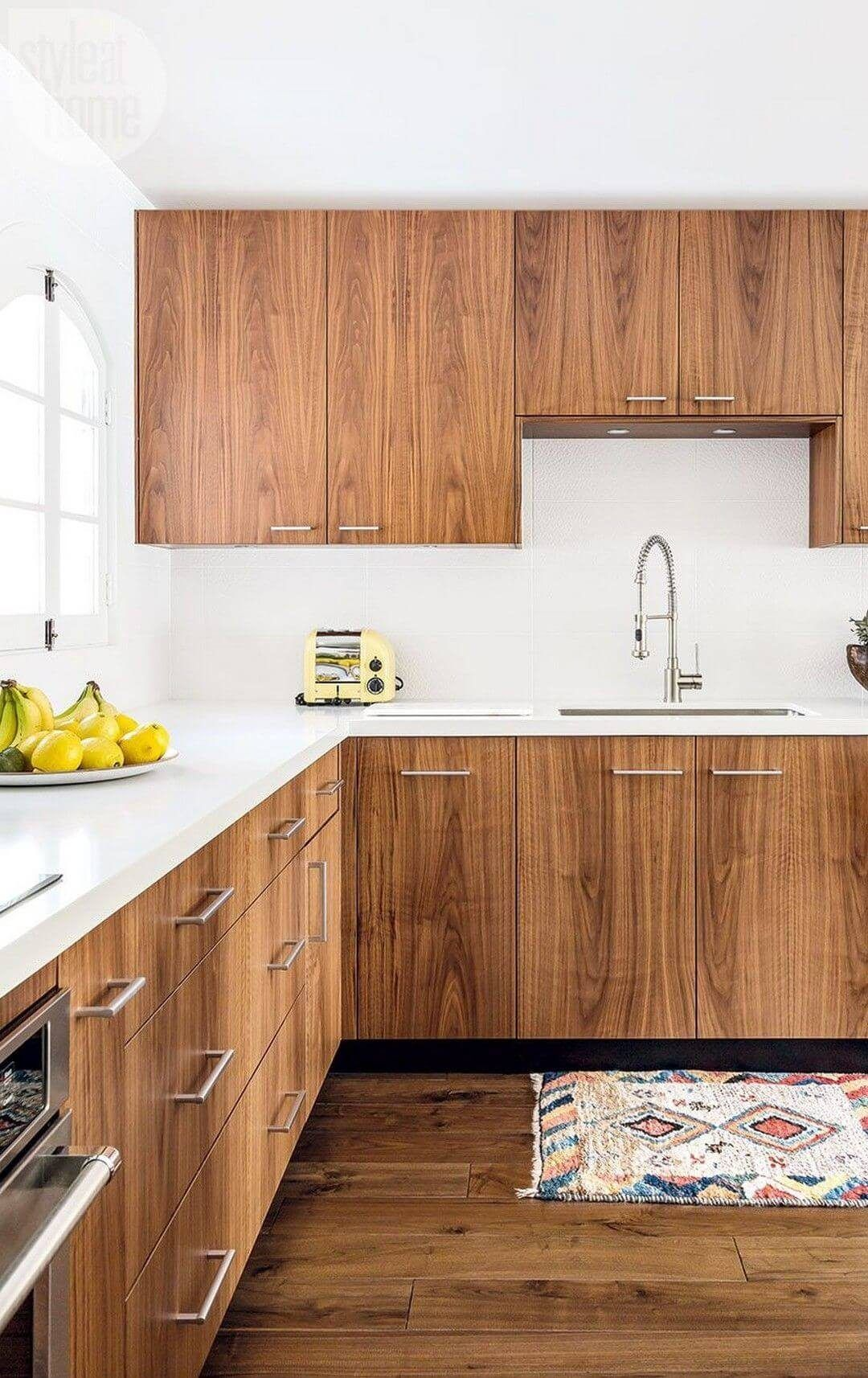 25 Mid Century Modern Kitchen Ideas To Beautify Your Cooking Area - 07Deb97047Aa811E0Ee19D1Fd2Ebe2D0