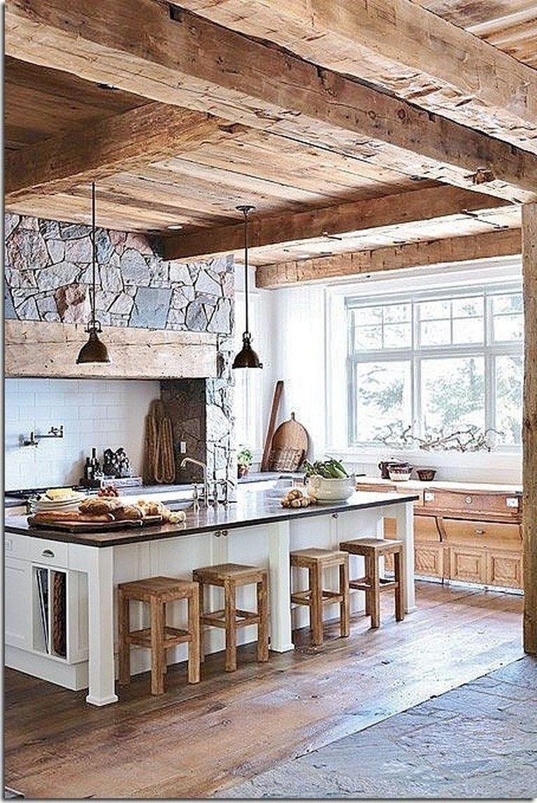 25 Stress-Free Rustic Kitchen Ideas (All Are Marvellous!) - 0Dfb9F24F9403Cdd0F0Db84F8C9Ca8De
