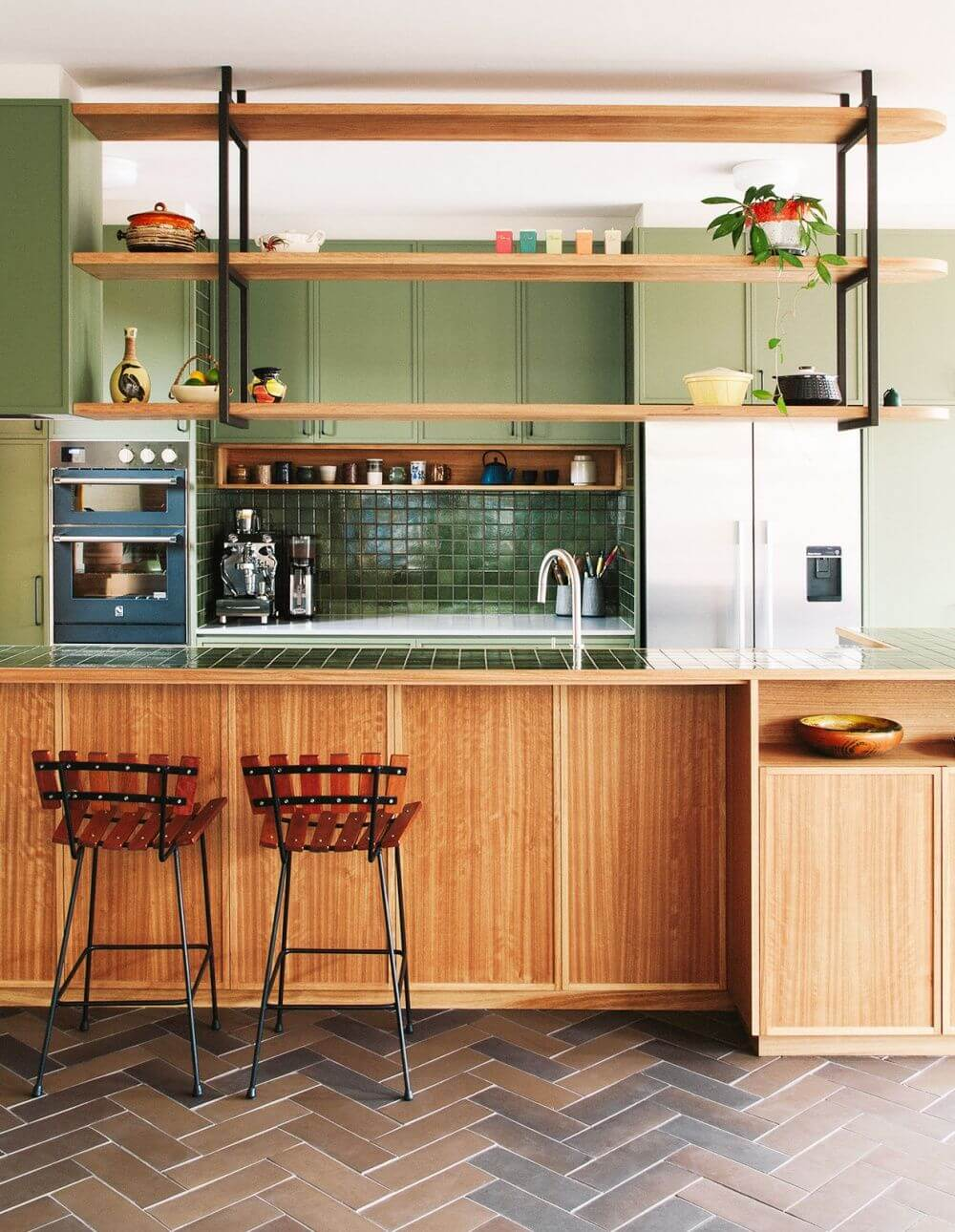 25 Mid Century Modern Kitchen Ideas To Beautify Your Cooking Area - 0E5616Efa21273F9Ff1340C338352Eea