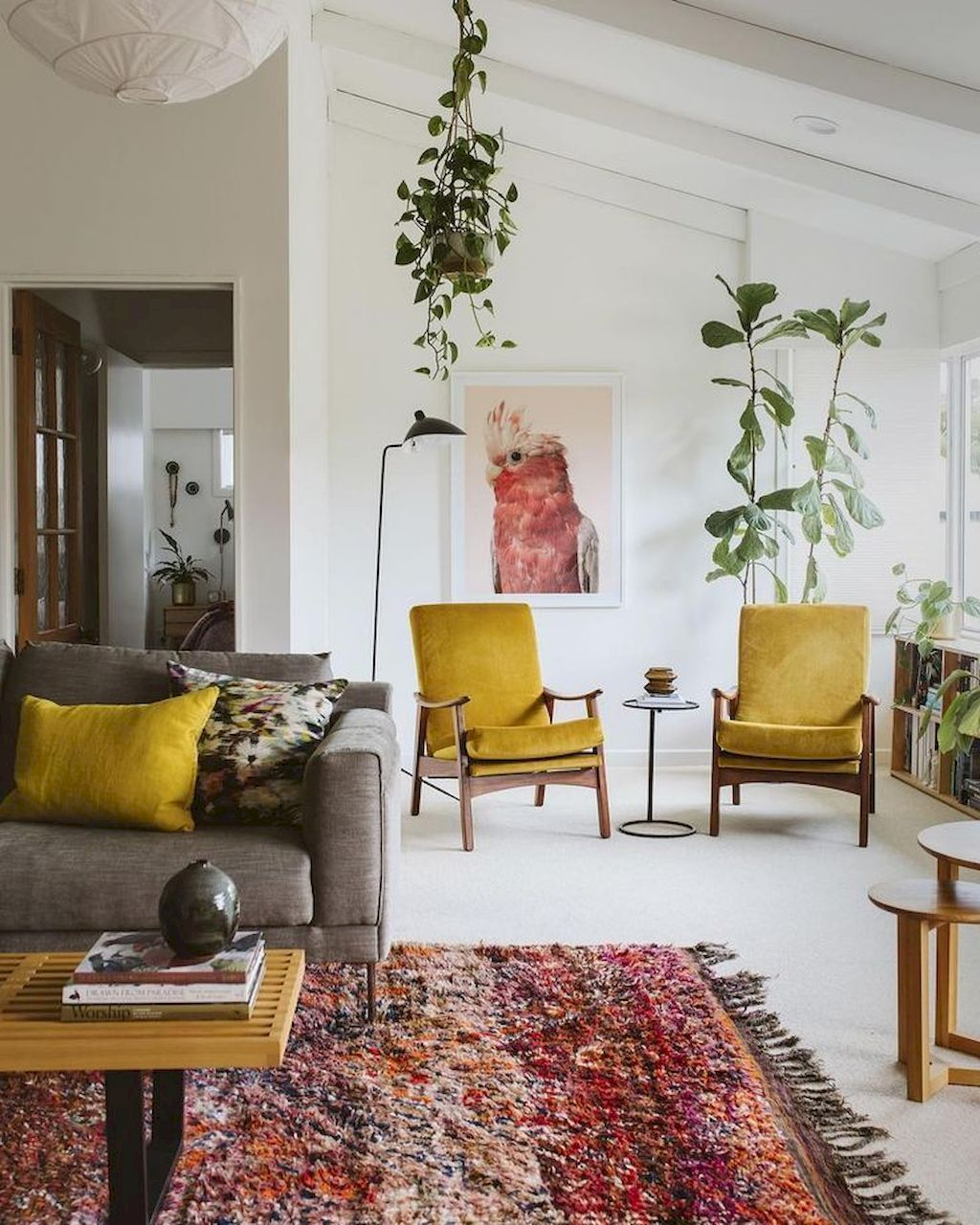 25 Elegant Mid Century Modern Bedroom (Heaven-Like Rooms) - 11