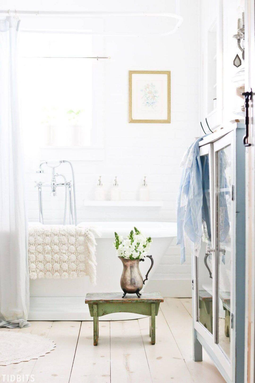 25 Stunning Shabby Chic Bathroom Designs That Will Adore You - 119Df6D3Ea64609D5Fdf53B0E559B7Fc