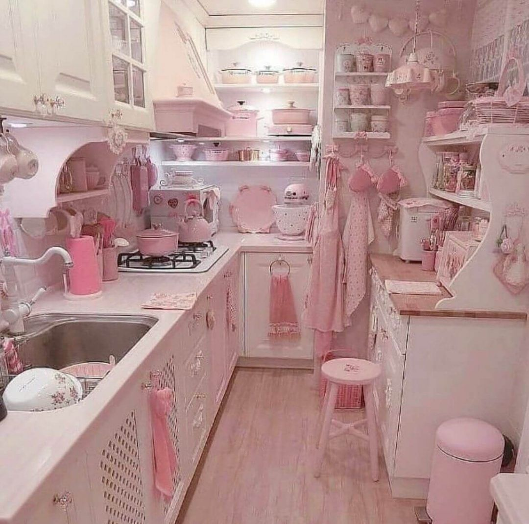 25 Lovely Shabby Chic Kitchen Ideas (Striking Rooms For Cooking) - 13C4161Cbcca07Ca66951Bfc881D439C