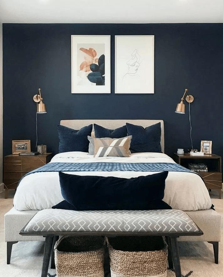 25 Elegant Mid Century Modern Bedroom (Heaven-Like Rooms) - 14