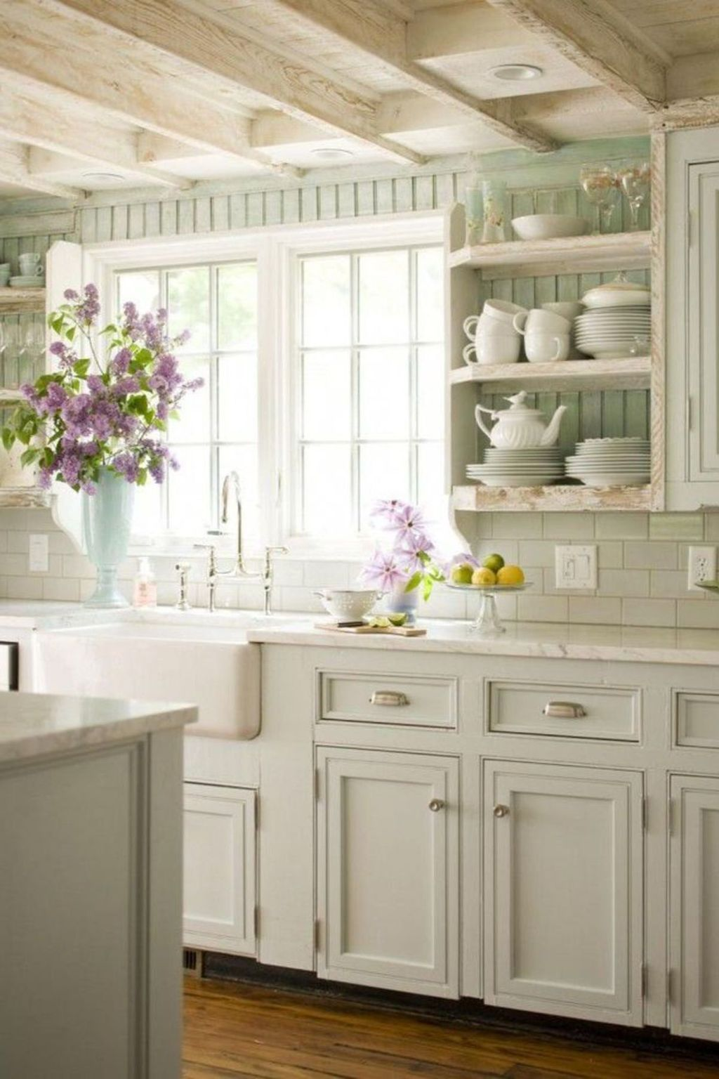 25 Lovely Shabby Chic Kitchen Ideas (Striking Rooms For Cooking) - 1670A03D03C7E3Bfa4032Ea5Df3259Ba