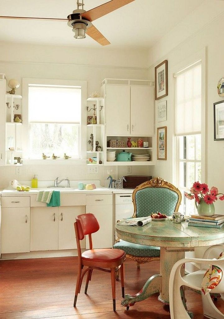 25 Lovely Shabby Chic Kitchen Ideas (Striking Rooms For Cooking) - 18Efa781A17Fa1637Be3Efadb099F0Ed