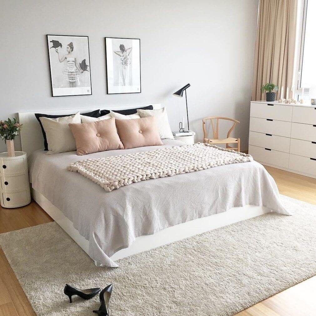 25 Scandinavian Bedroom Ideas To Give Airy And Stylish Look - 18Q