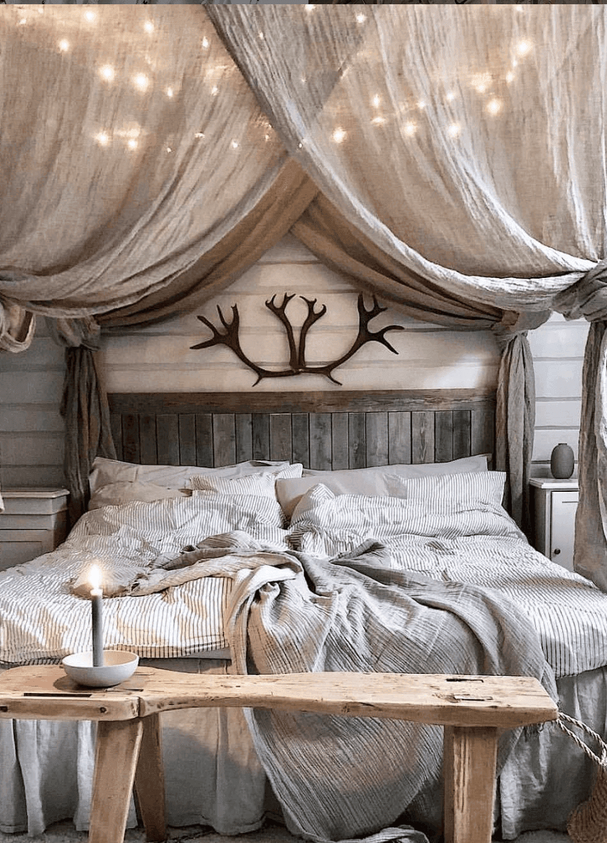 25 Absorbing Rustic Bedroom Concepts (Passions For Sleeping) - 1A