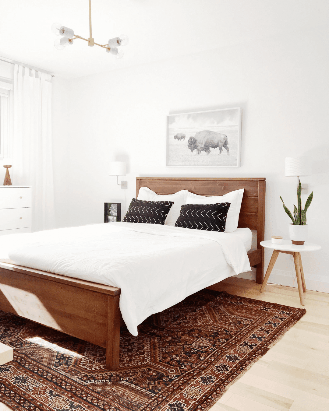 25 Scandinavian Bedroom Ideas To Give Airy And Stylish Look - 1Q