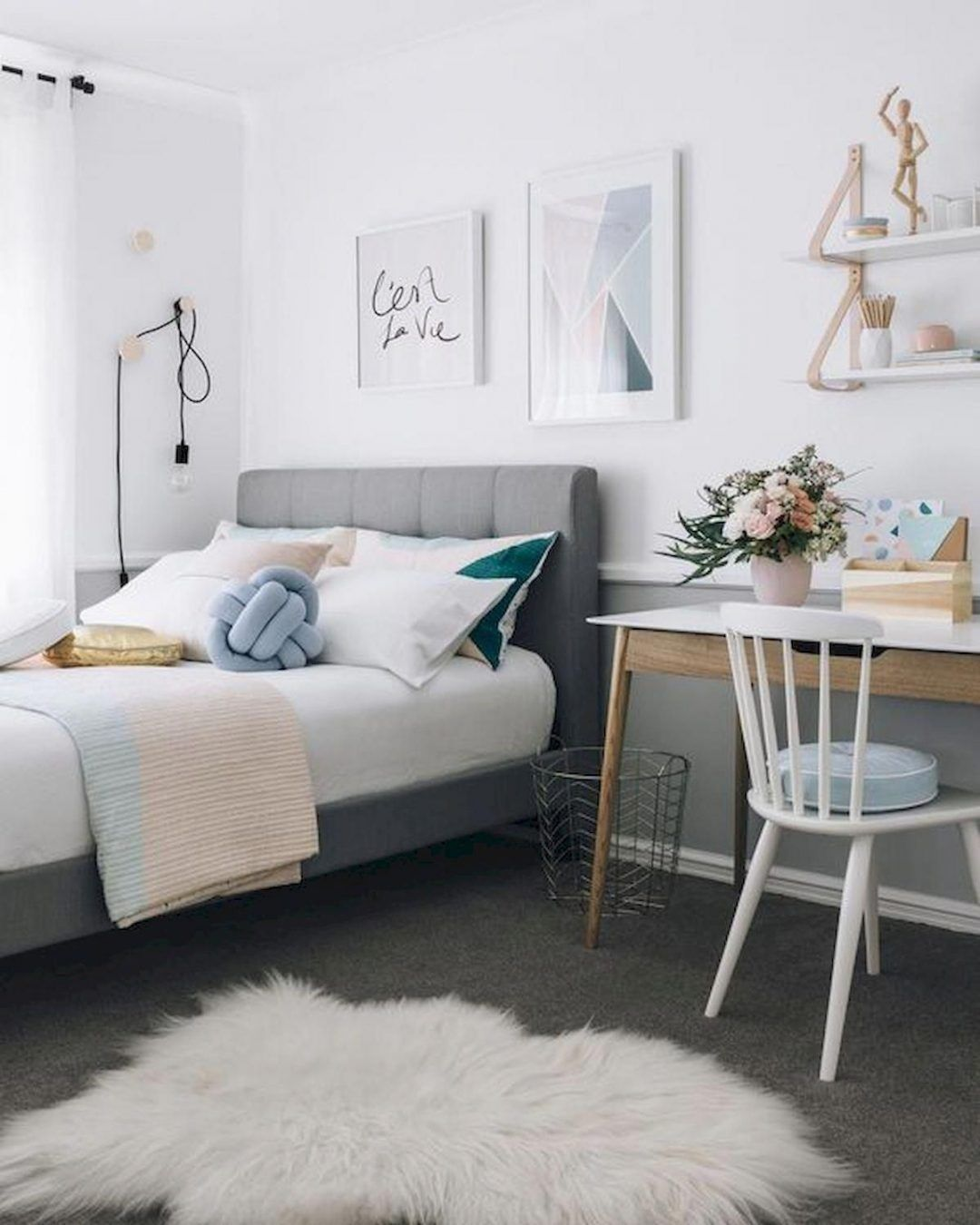 25 Scandinavian Bedroom Ideas To Give Airy And Stylish Look - 22Q