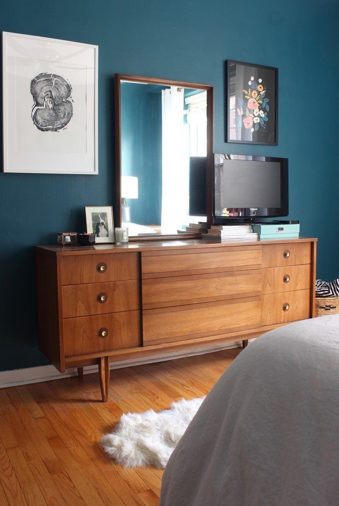 25 Elegant Mid Century Modern Bedroom (Heaven-Like Rooms) - 24