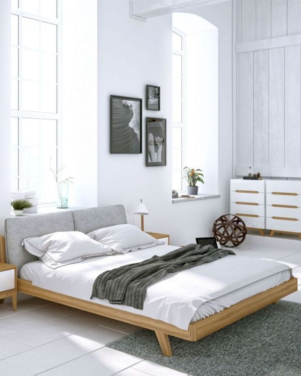 25 Scandinavian Bedroom Ideas To Give Airy And Stylish Look - 24Q