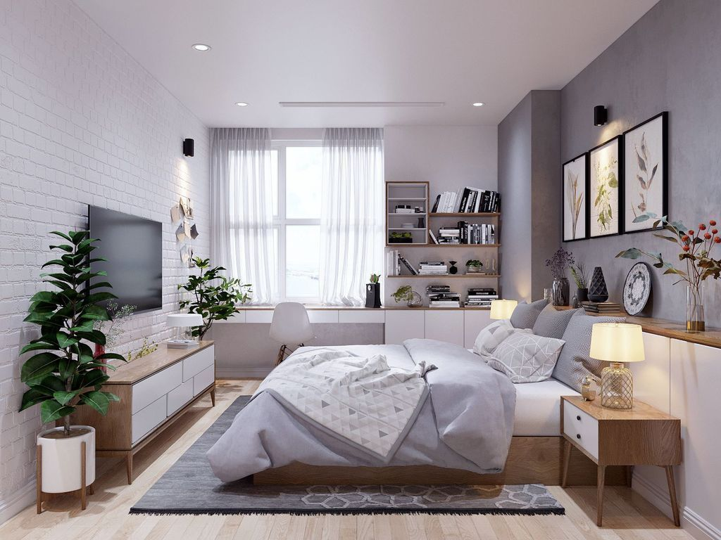 25 Scandinavian Bedroom Ideas To Give Airy And Stylish Look - 25Q