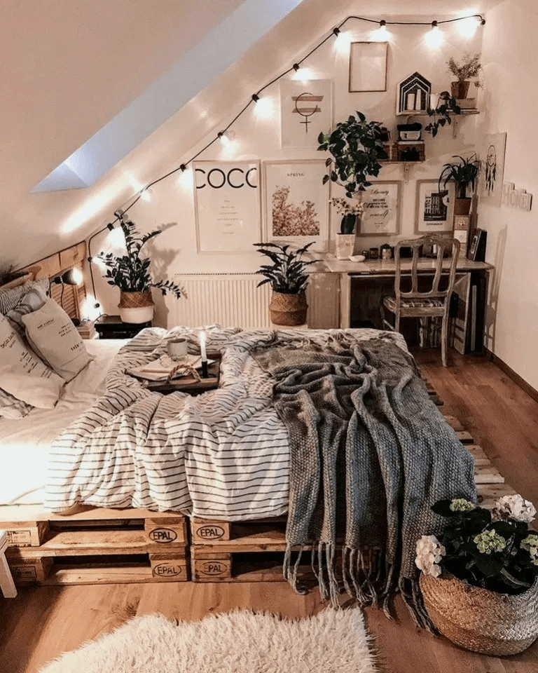 25 Absorbing Rustic Bedroom Concepts (Passions For Sleeping) - 2A