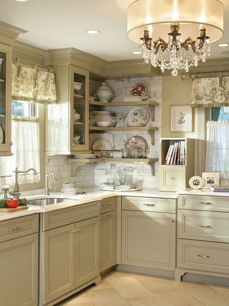 25 Lovely Shabby Chic Kitchen Ideas (Striking Rooms For Cooking) - 2Fa79B84358657B60B2D23F1214498A7