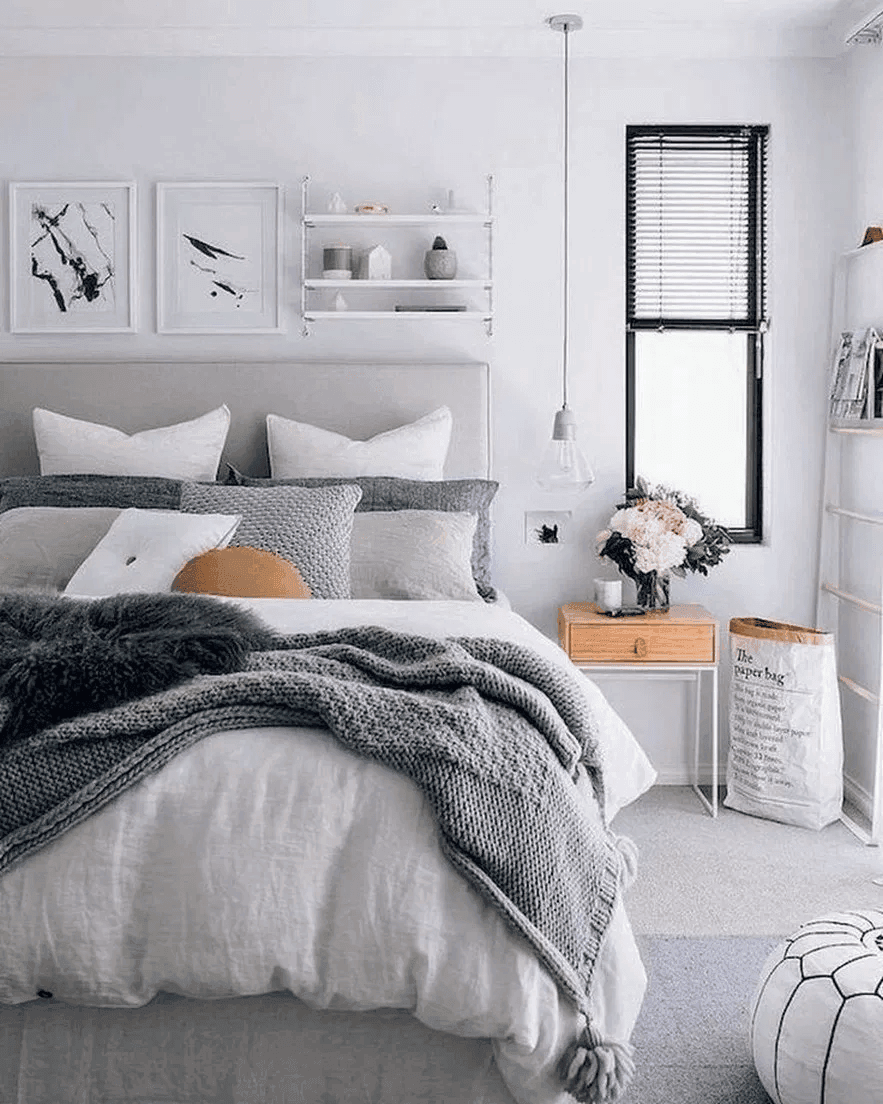 25 Scandinavian Bedroom Ideas To Give Airy And Stylish Look - 2Q