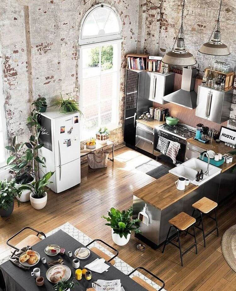 25 Eclectic Scandinavian Kitchen Designs (Let's Bring The Charm!) - 3473E8Be248F6D8De1958873D3309B37