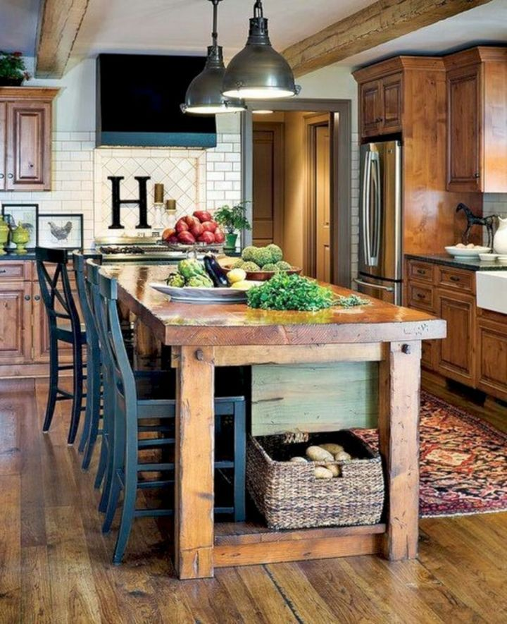 25 Stress-Free Rustic Kitchen Ideas (All Are Marvellous!) - 34D64Cf259067Db99429E0Ff6B4A85A8