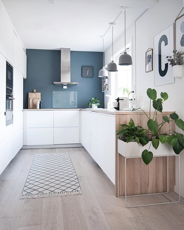25 Eclectic Scandinavian Kitchen Designs (Let's Bring The Charm!) - 35Fcbfa302B681Ad8A5A7C42C4Eb0D0F