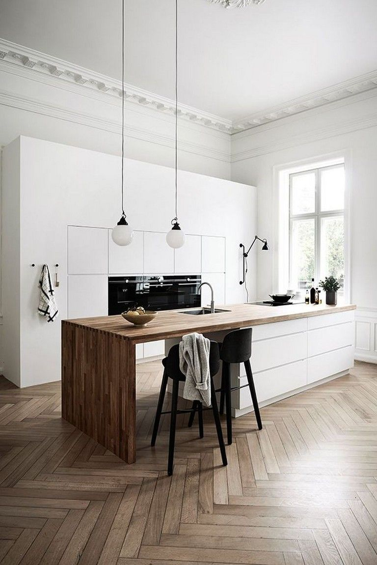 25 Eclectic Scandinavian Kitchen Designs (Let's Bring The Charm!) - 418Fb7566De452391469Bf310F6Bc040