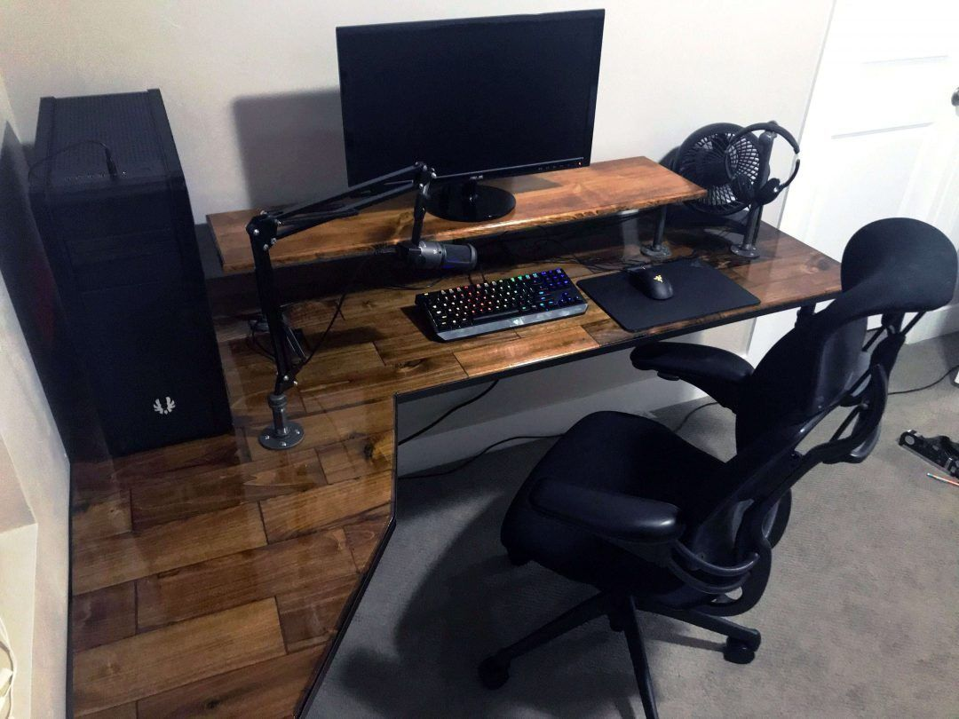 11 Diy Gaming Desk Ideas That Are Easy To Make - 4A9D6B171469562294E91302F15618Db