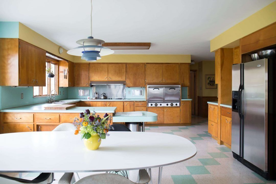 25 Mid Century Modern Kitchen Ideas To Beautify Your Cooking Area - 4Bd86C0857A1C575B0908F67Bb8Fc005