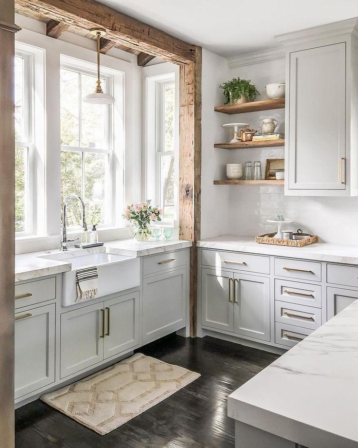 25 Stress-Free Rustic Kitchen Ideas (All Are Marvellous!) - 507D9Bc9F7Ef979F4B7A62Ada30D5C91