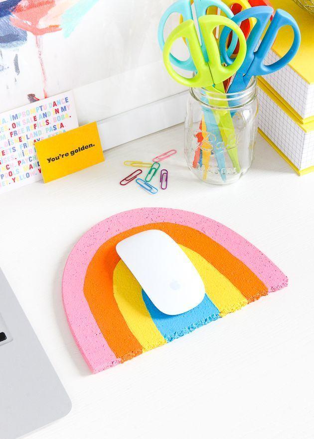 11 Diy Mousepad Ideas To Beautify Your Work Desk - 50A768Ae25Acbe5698F55Efbfd7Aca04