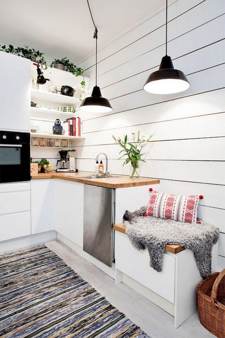 25 Eclectic Scandinavian Kitchen Designs (Let's Bring The Charm!) - 52Eb37247Fb15Eb1Cf572Bab47D68279