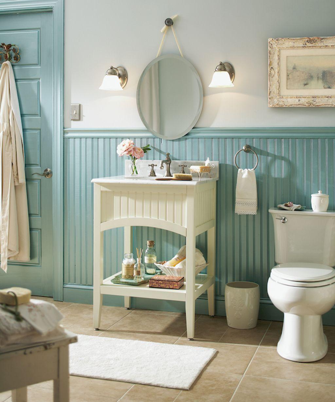 25 Stunning Shabby Chic Bathroom Designs That Will Adore You - 5328C16Bab2808Ac206634086B0104Aa