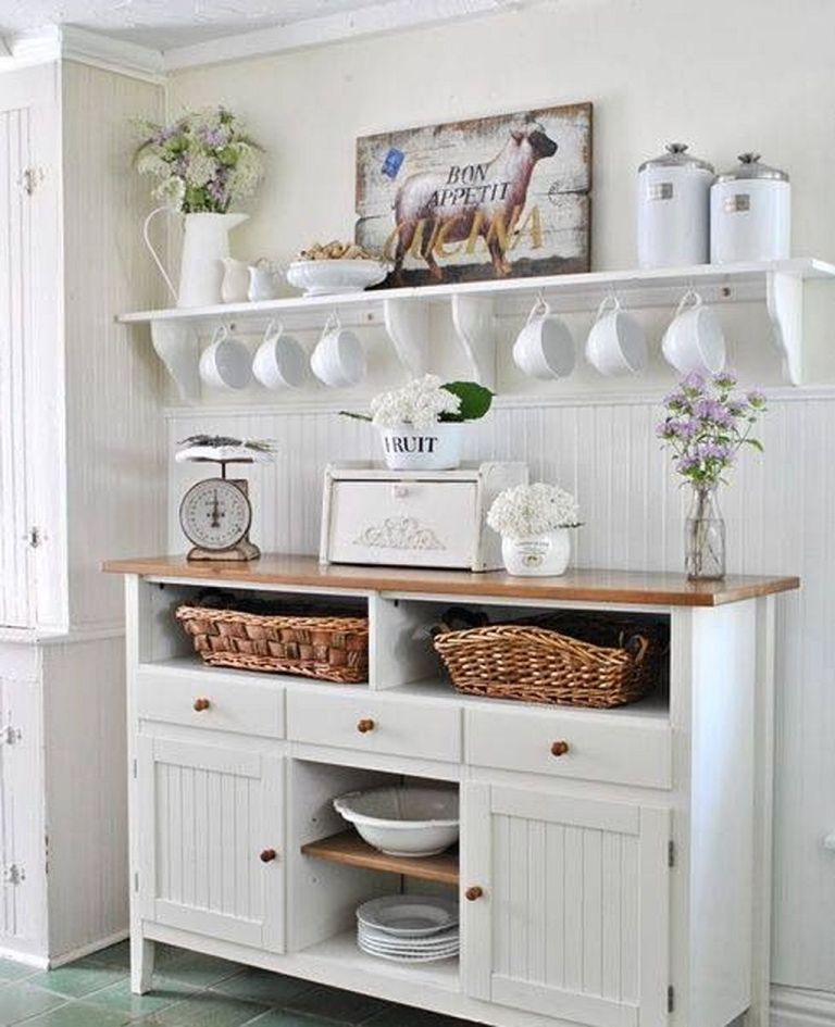 25 Lovely Shabby Chic Kitchen Ideas (Striking Rooms For Cooking) - 5A1B81B760Ed9C96Cd0Bc98436F207F6