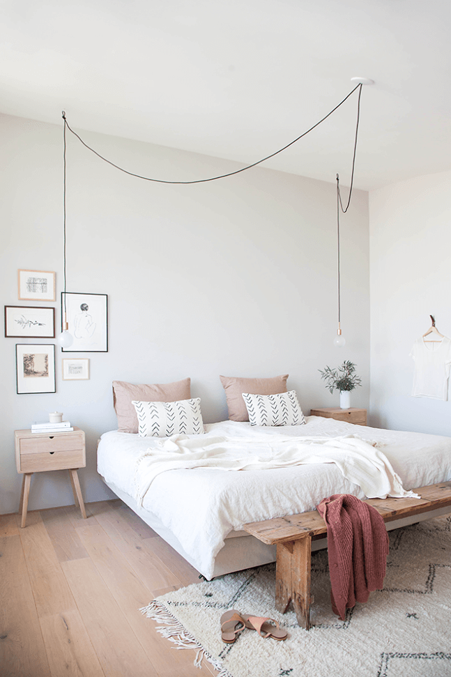 25 Scandinavian Bedroom Ideas To Give Airy And Stylish Look - 6Q