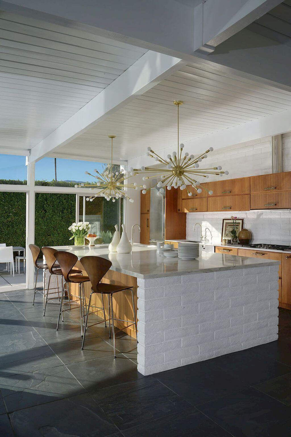 25 Mid Century Modern Kitchen Ideas To Beautify Your Cooking Area - 7C481Ddc6B1A6F0E2149134665554186