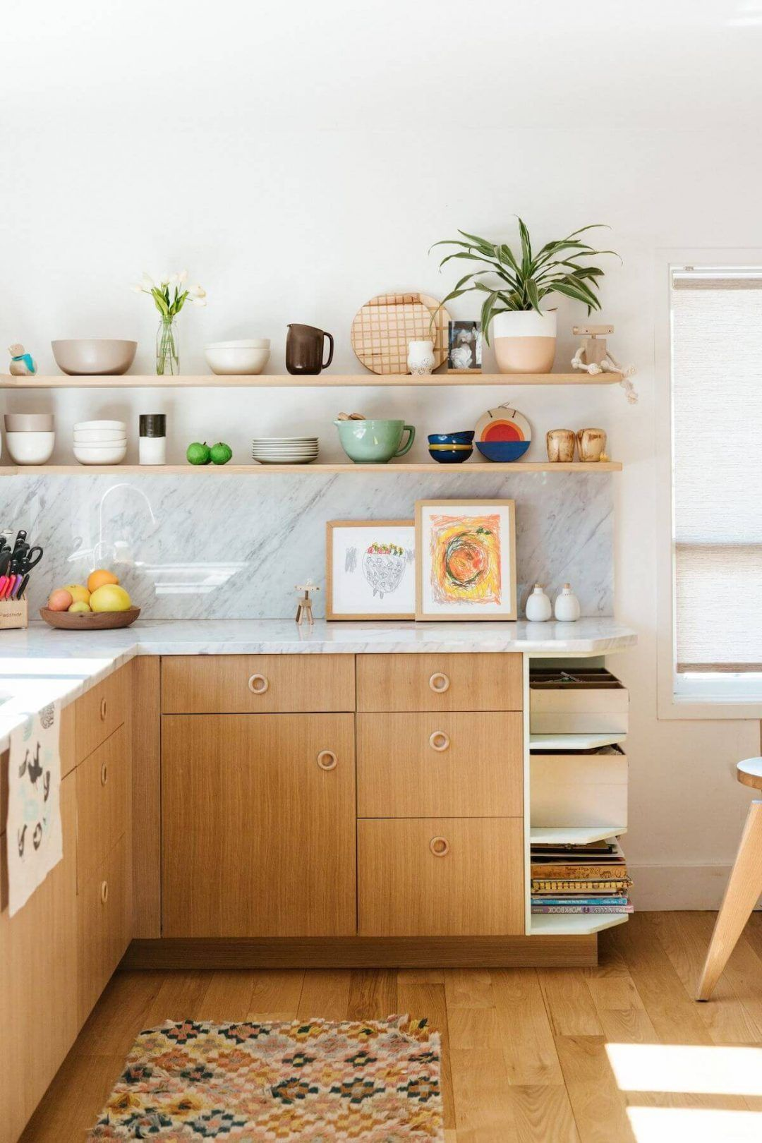 25 Mid Century Modern Kitchen Ideas To Beautify Your Cooking Area - 7Ce593561F2B0659178843Ec3133Bc32