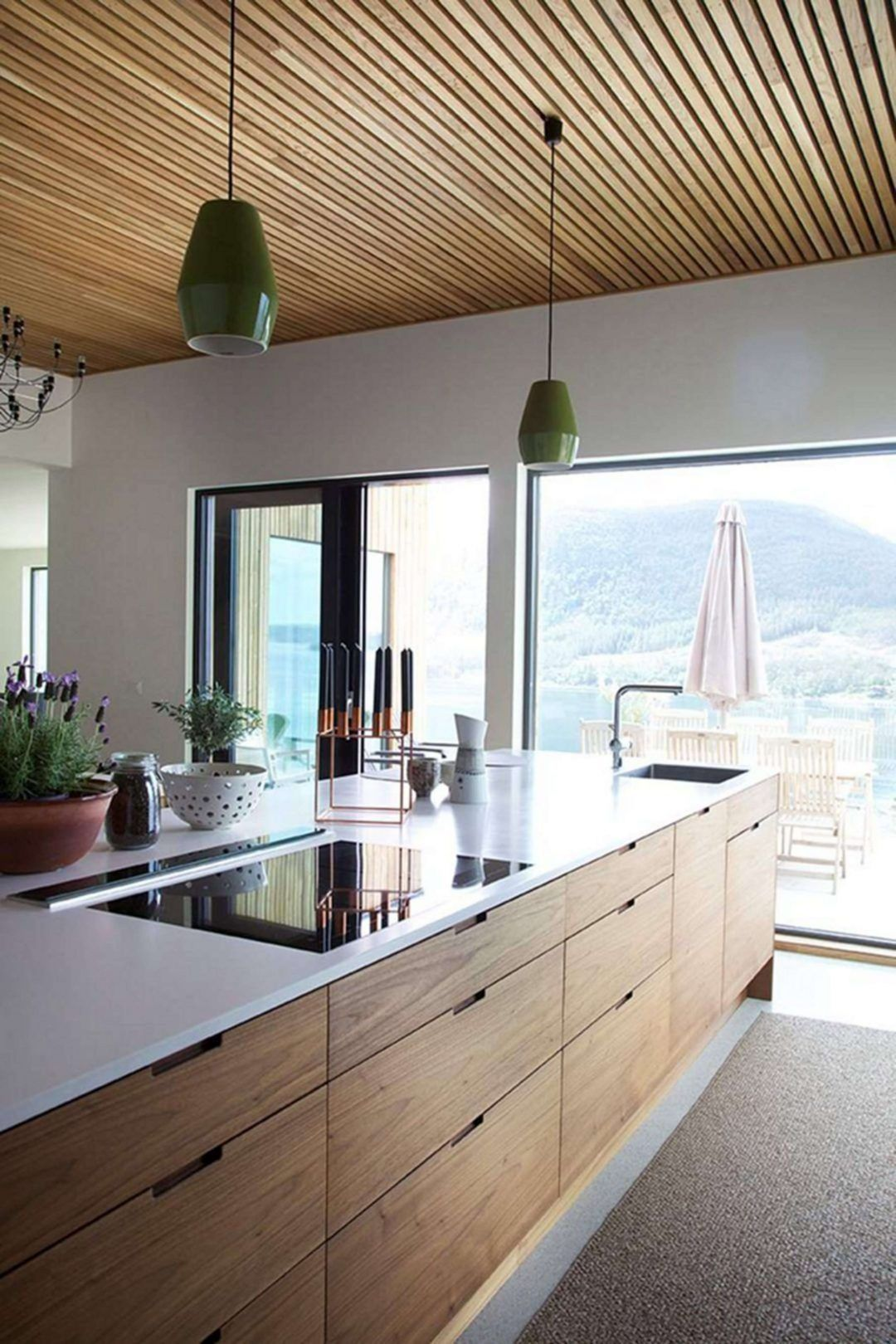 25 Mid Century Modern Kitchen Ideas To Beautify Your Cooking Area - 81E21D845Fb97627402F1Bcfec64Ad57