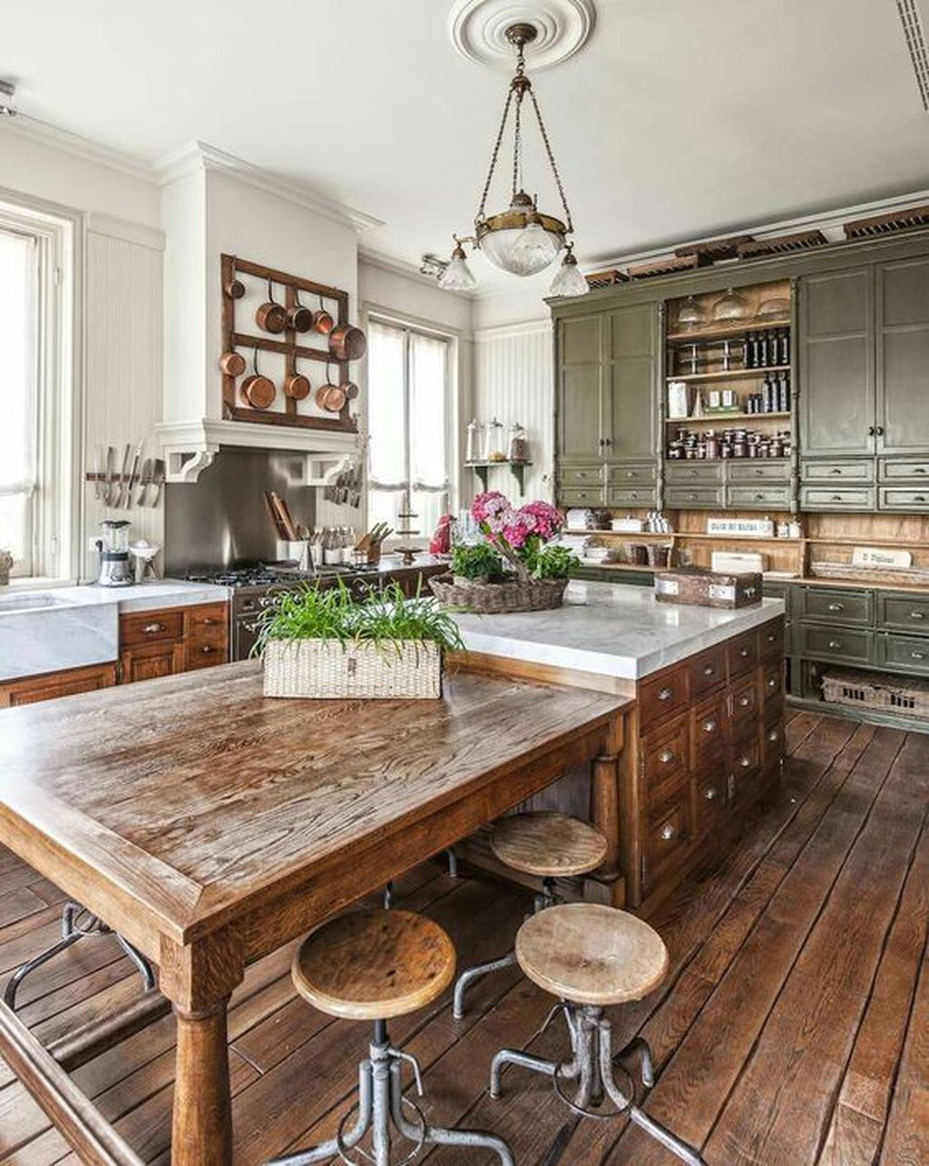 25 Stress-Free Rustic Kitchen Ideas (All Are Marvellous!) - 873372A8A6D1C57C1167Adaa62A67971