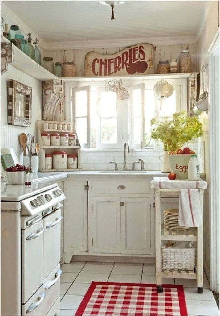 25 Lovely Shabby Chic Kitchen Ideas (Striking Rooms For Cooking) - 8Ed8056Ef4A532Ddac275Aa7Fbd2A5E2
