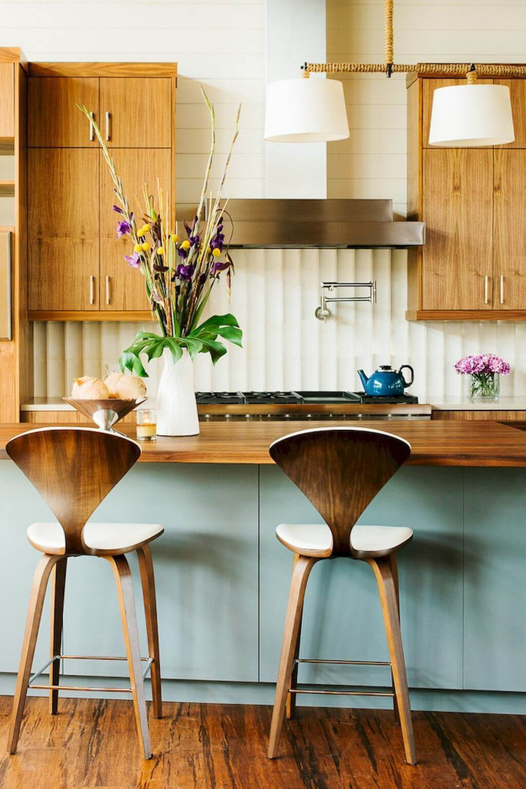 25 Mid Century Modern Kitchen Ideas To Beautify Your Cooking Area - 8F519E39168B548D96B8E6B13E24D151