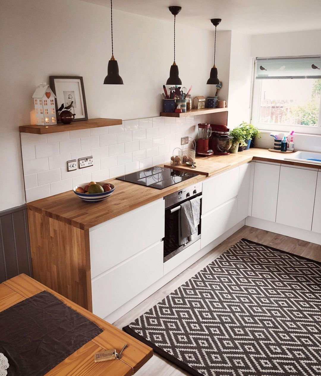 25 Eclectic Scandinavian Kitchen Designs (Let's Bring The Charm!) - 95528Bc23E036B2Afeeafd1D8A32484C