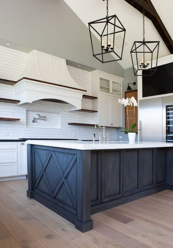 25 Bewildering Farmhouse Kitchen Designs (Traditional Beauties!) - 975746C343447203Db03B17Ee667Bec2