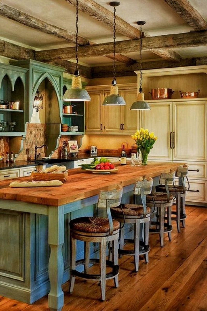 25 Stress-Free Rustic Kitchen Ideas (All Are Marvellous!) - 99153Cb6686Bd70C980Dc16F50898079