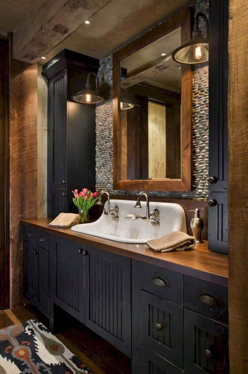 25 Stunning Shabby Chic Bathroom Designs That Will Adore You - 9A6A1Db52Fddda8C945E69D60Eb81F1B