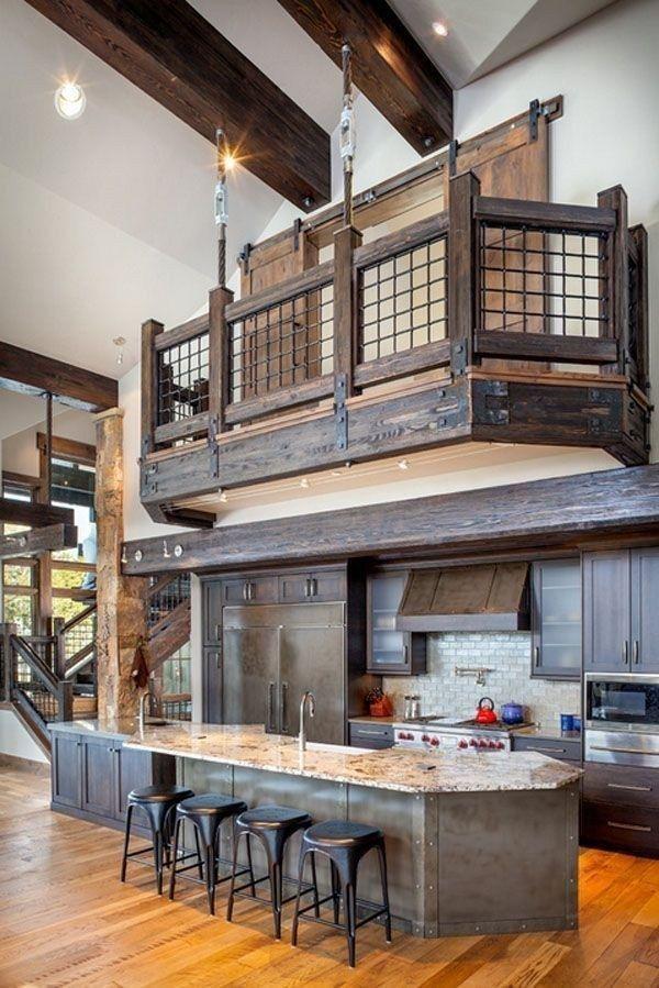 25 Stress-Free Rustic Kitchen Ideas (All Are Marvellous!) - 9B39E3E9Fa03F39A432D7F4A6C22F4F2