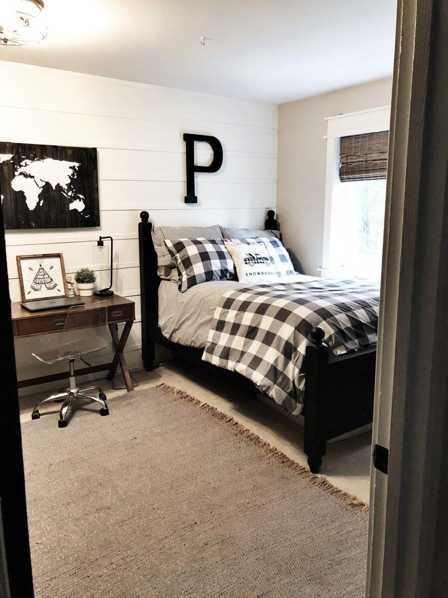 25 Inviting And Cozy Farmhouse Bedroom (The Visual Treats) - A12
