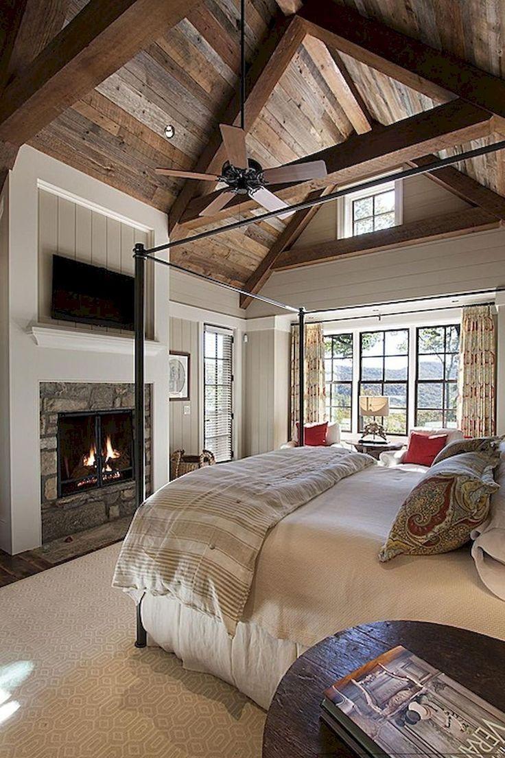 25 Inviting And Cozy Farmhouse Bedroom (The Visual Treats) - A13