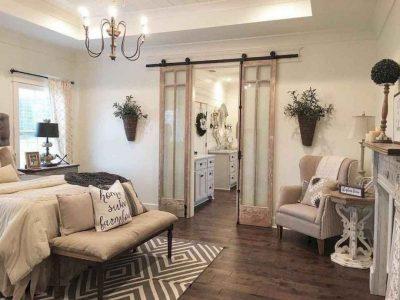 25 Inviting And Cozy Farmhouse Bedroom (The Visual Treats)
