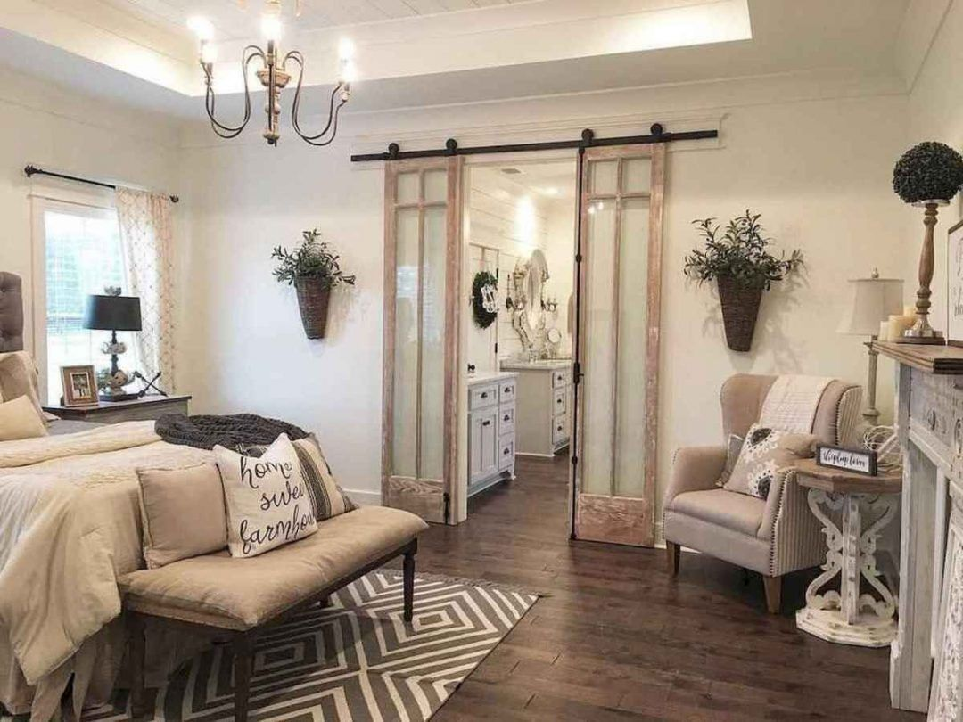 25 Inviting And Cozy Farmhouse Bedroom (The Visual Treats) - A25