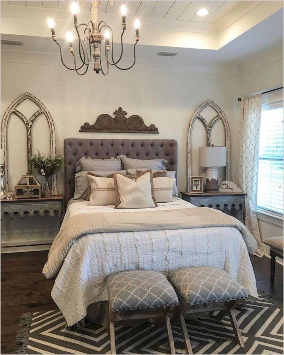25 Inviting And Cozy Farmhouse Bedroom (The Visual Treats) - A7