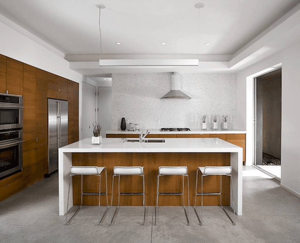 25 Mid Century Modern Kitchen Ideas To Beautify Your Cooking Area - A8E3D5E5A76F55A6405Bf3Cbe819289D