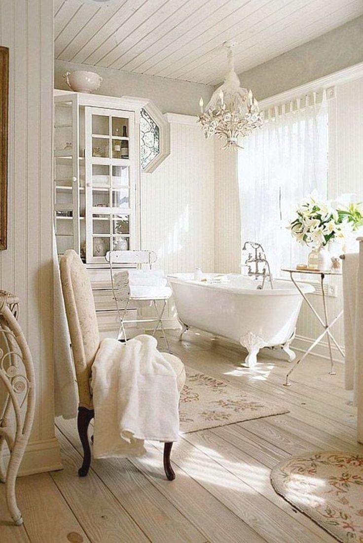 25 Stunning Shabby Chic Bathroom Designs That Will Adore You - Acf375Dac053D0A3Cc4D55E30514B034